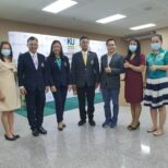 Signing MOU under E-Waste Management Project between Kasetsart University Siracha Campus and Advance Wireless Network Co., Ltd.