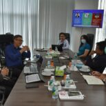 The representatives of the Coordination Working Group on Personnel Development in the Eastern Special Development Zone (EEC-HDC) attended a discussion on the EEC Model Type A approach