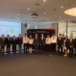 ดร.อบ นิลผาย รองคณบดีฝ่ายพัฒนานิสิต เข้าร่วมโครงการนำเสนอผลงานของนิสิตสหกิจศึกษาของบริษัท มิตชูบิชิ มอเตอร์ส ประเทศไทย จำกัด