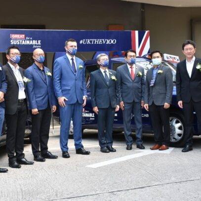 The British Embassy in Thailand organizes the EV 100 Roadshow seminar, showing the British electric vehicle technology and organizing a workshop on the UK-Thailand Smart City, the city stepping into the 26th COP